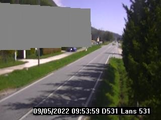 Webcam Jaumes - Route de Villard D531
